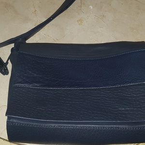 Via Spiga genuine Italian leather beautiful slate